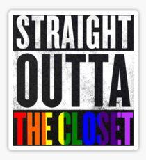Straight Outta The Closet Sticker