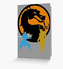 Mortal Kombat Greeting Card