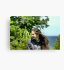 Just a Beautiful Girl Canvas Print
