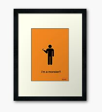 Arrested Development Hook Framed Print