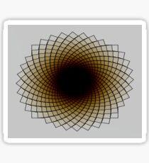 Sunflower Spiral Sticker
