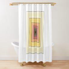 Doodled Spiral Shower Curtain