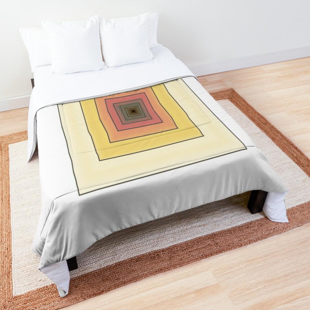 Doodled Spiral Comforter