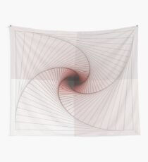Burned Spiral Wall Tapestry