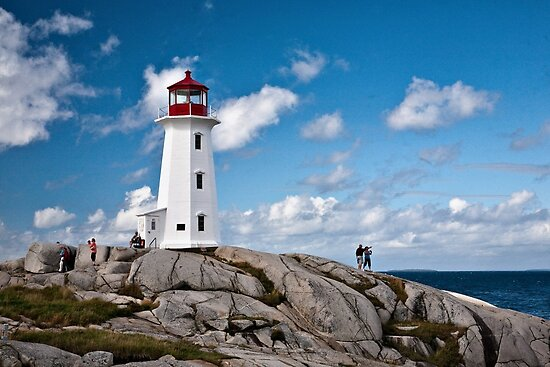 Peggy's Cove Light by PhotosByHealy