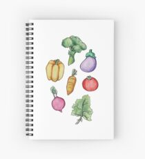 Garden Fresh  Spiral Notebook