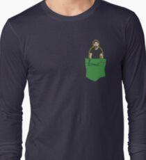 JUST DO IT - Shia Labeouf Pocket Companion Long Sleeve T-Shirt