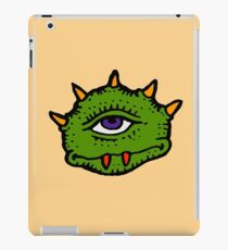 Halloween Gift - Friendly Cyclops - Area 51 Alien iPad Case/Skin