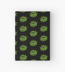 Halloween Gift - Friendly Cyclops - Area 51 Alien Hardcover Journal