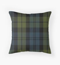00014 Campbell Clan Tartan  Throw Pillow