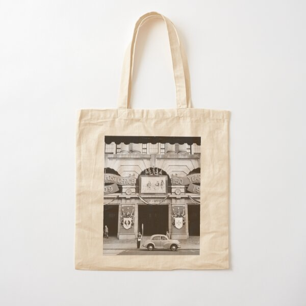 General Post Office Perth in 1959 photographed by William Alroe Halvorsen State Library of Western Australia Cotton Tote Bag