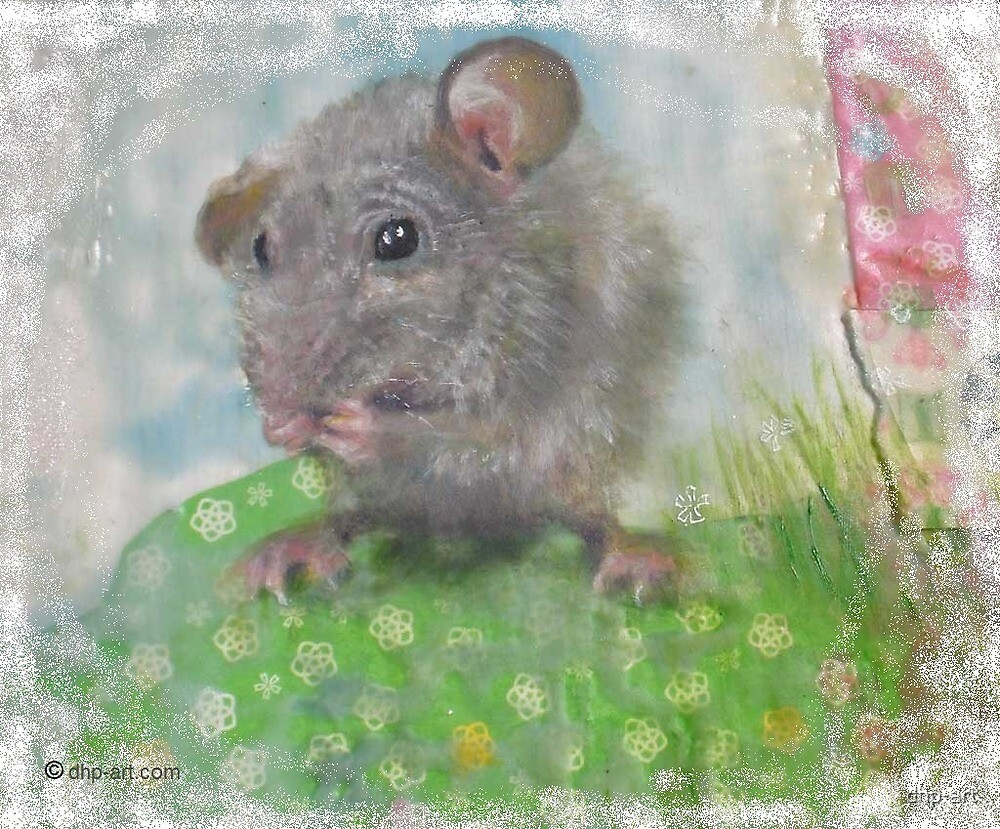 Mouse #1 © Deborah Howard-Page, All Rights Reserved. www.dhp-art.com by dhp-art