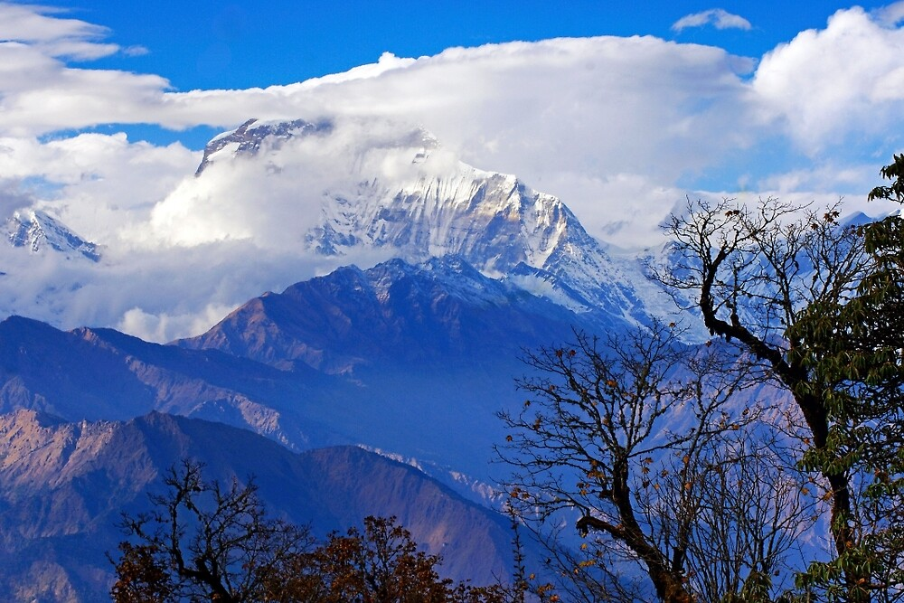 Dhaulagiri Rising by Harry Oldmeadow