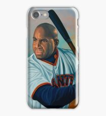 Barry Bonds painting iPhone Case/Skin