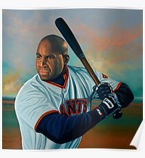 Barry Bonds painting Poster