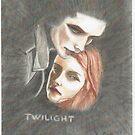 Edward and Bella by artbyjay