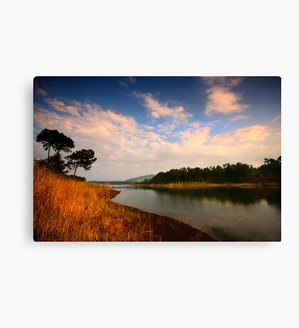Late afternoon by Umiam Canvas Print