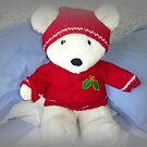 He is so cuddly, Bertie Bear by EdsMum
