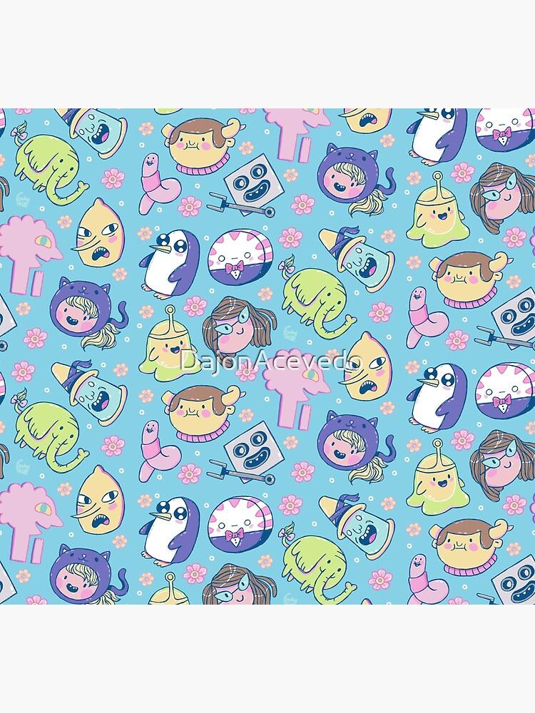 Adventure Time Friends 2 by DajonAcevedo