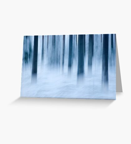 Frost and fog Greeting Card