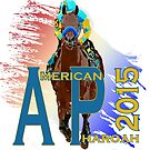 American Pharoah 2015 front runner by Ginny Luttrell