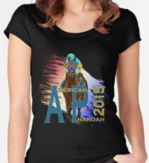 American Pharoah 2015 front runner Women's Fitted Scoop T-Shirt
