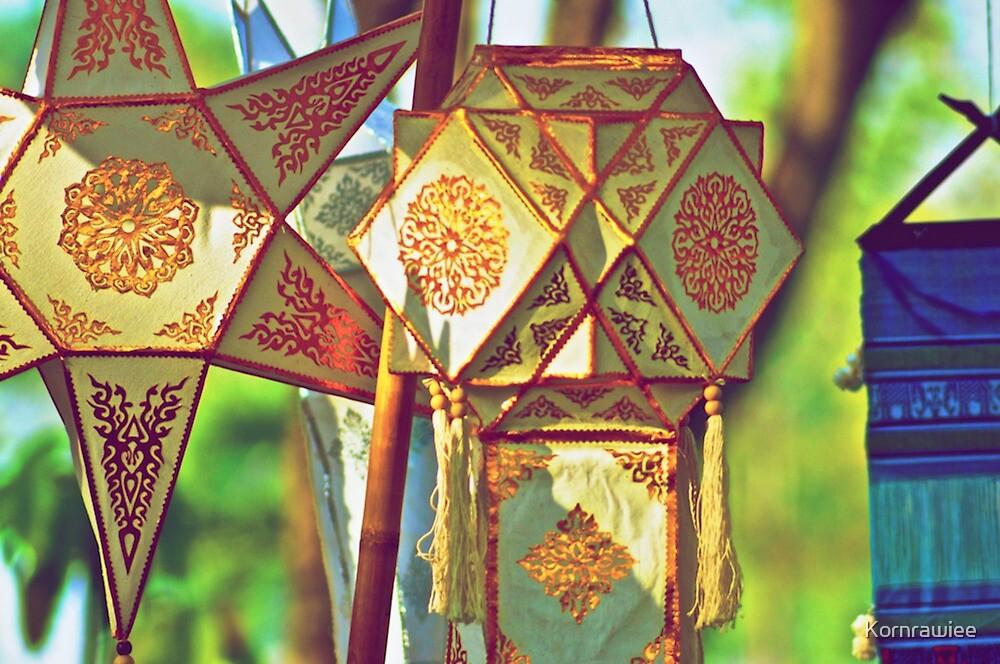 Northern Thai Lantern by Kornrawiee