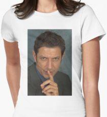 Jeff Goldblum Women's Fitted T-Shirt