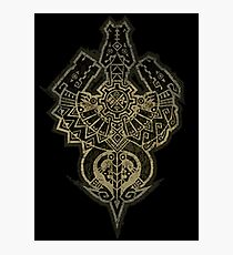 Monster Hunter Tri Symbol Photographic Print