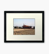 'Lincolnshire Poacher' & Recovery Team - Skegness Framed Print