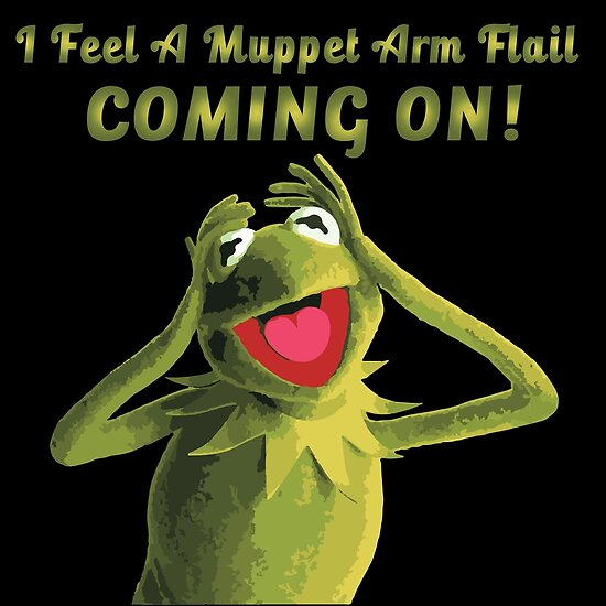 I Feel a Muppet Arm Flail Coming On! by BPPhotoDesign