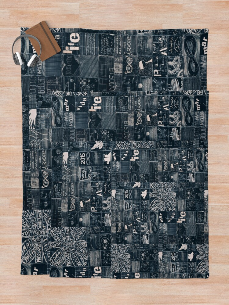 Alternate view of I love Porto Throw Blanket
