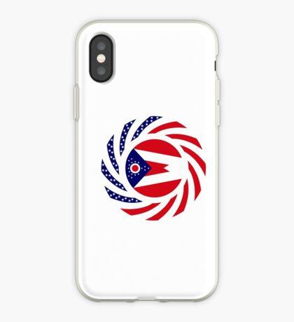 Ohio Murican Patriot Flag Series iPhone Case