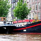 Amsterdam Houseboats by phil decocco