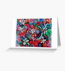 Floral Spring Greeting Card