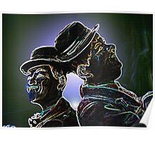 Comic Classic Duo Poster