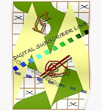 Digital Suscriber Line Poster