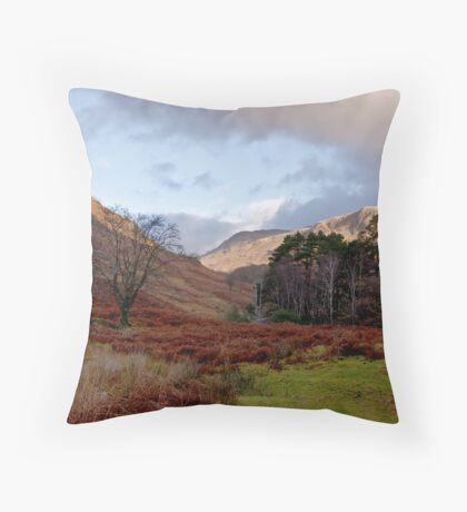The Beauty of Wasdale Throw Pillow