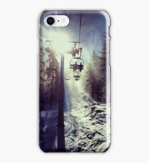 Chairlift to heaven iPhone Case/Skin