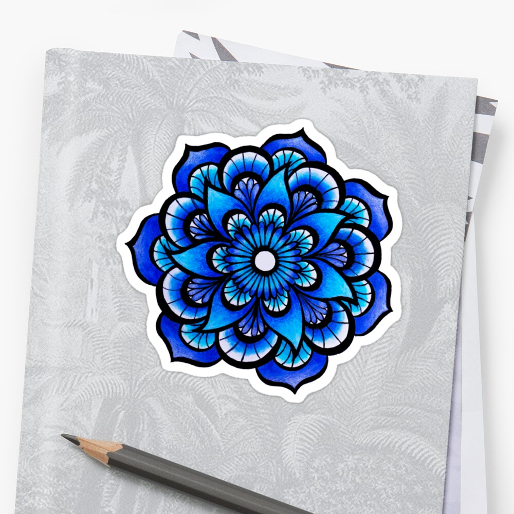 Blue Mandala by Genesys