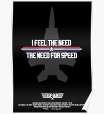 I Feel the Need for Speed Poster