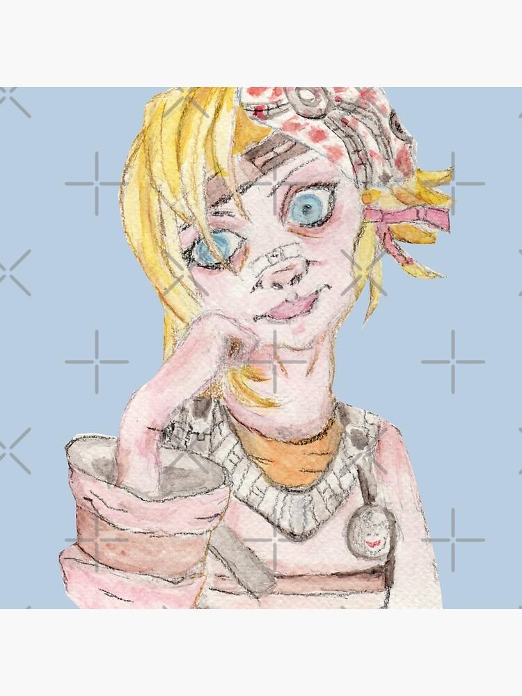 Tiny Tina Borderlands Fan Art by Ezhael