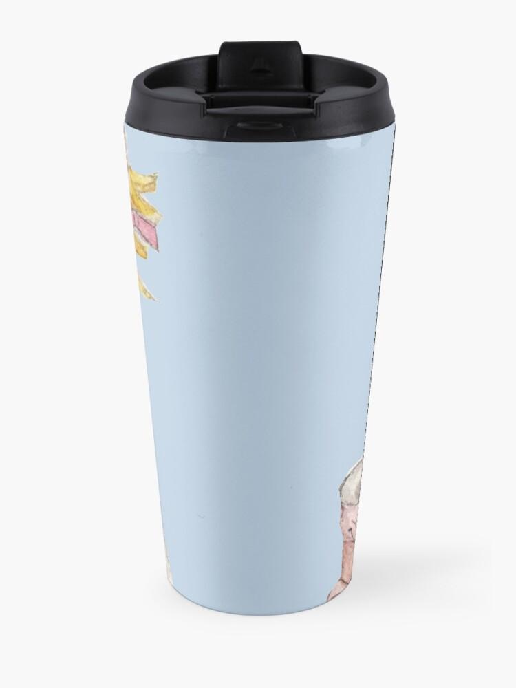 Alternate view of Tiny Tina Borderlands Fan Art Travel Mug