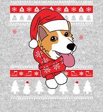 Corgi Ugly Christmas Kids Pullover Hoodie