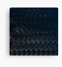 Knitted Stone. Canvas Print