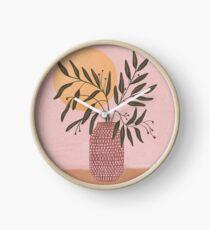 olive branch Clock