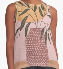 olive branch Sleeveless Top