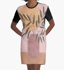 olive branch Graphic T-Shirt Dress