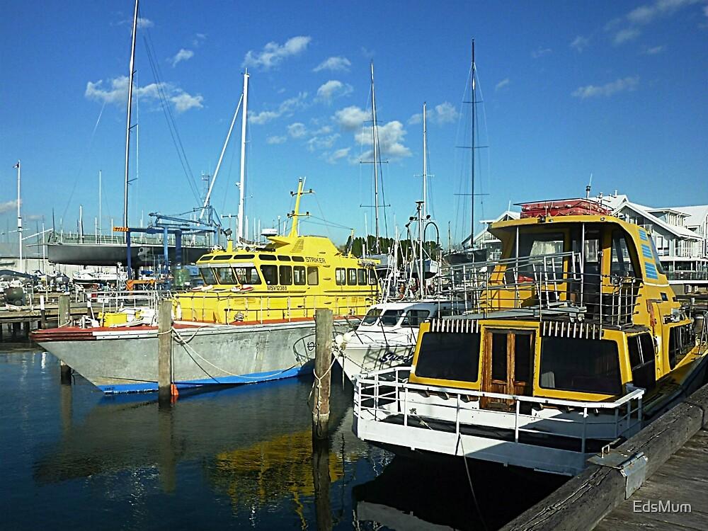 Big Boys Boats - Williamstown, Vic. Australia by EdsMum
