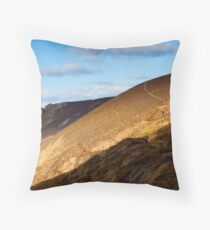 Towanroath Engine House at Wheal Coates Throw Pillow